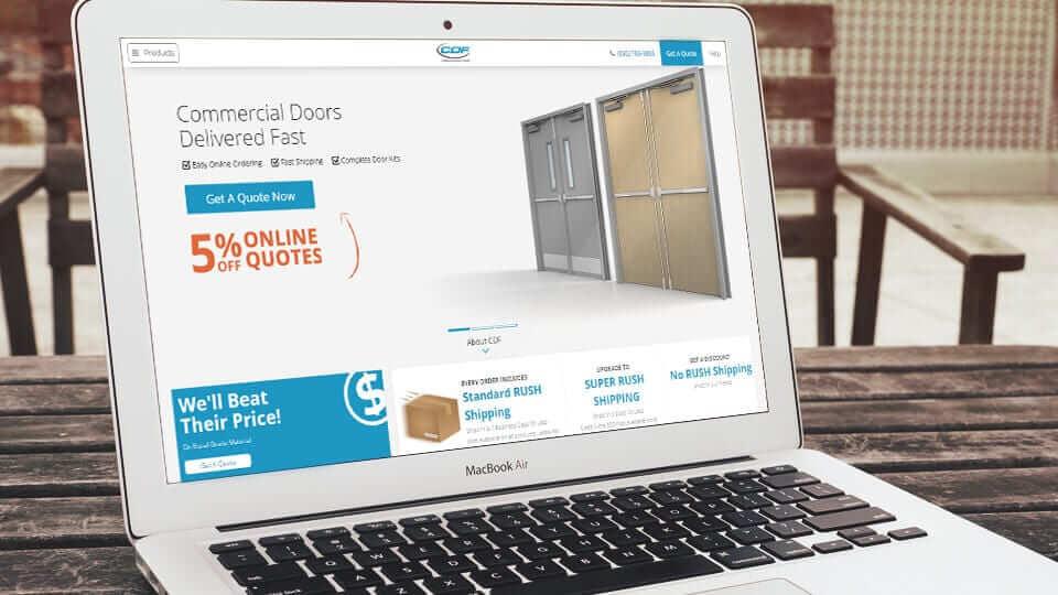CDF Makes Buying Commercial Steel Doors, Wood Doors & Fire Doors Easier