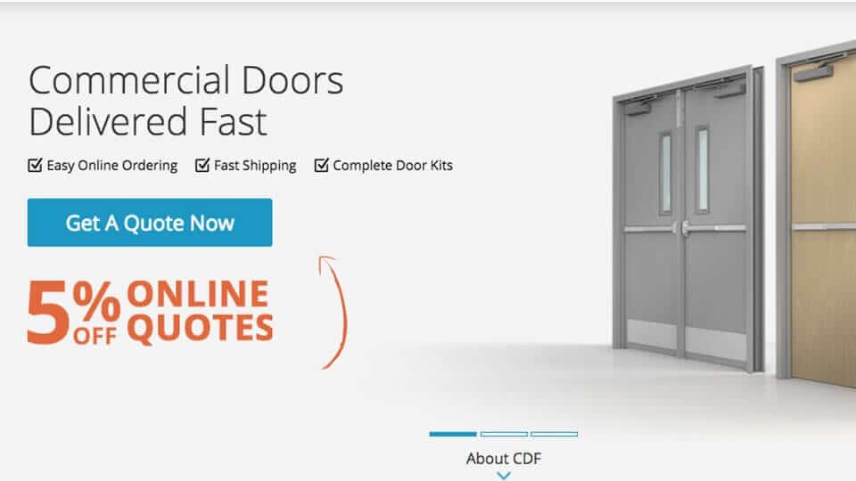 sc 1 st  CDF Distributors & How To Get A Quote On Commercial Doors - CDF Distributors pezcame.com