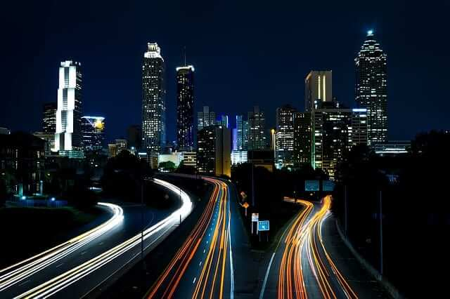 Atlanta's beautiful skyline