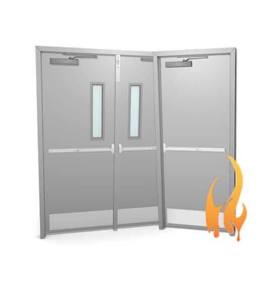 fire rated hollow metal doors. Black Bedroom Furniture Sets. Home Design Ideas