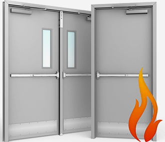 Commercial fire rated doors - What is a fire rated door ...