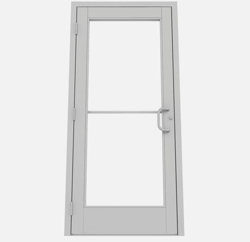 Commercial Aluminum Gl Storefront Doors on