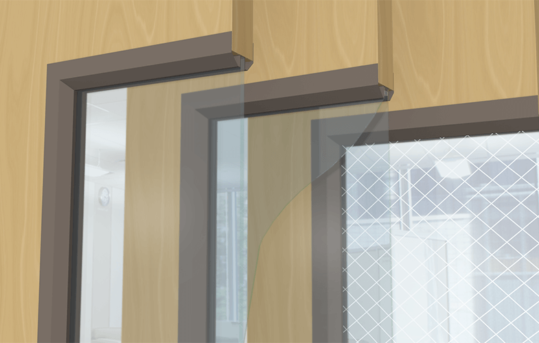 Commercial Wood Doors With Gl Kits