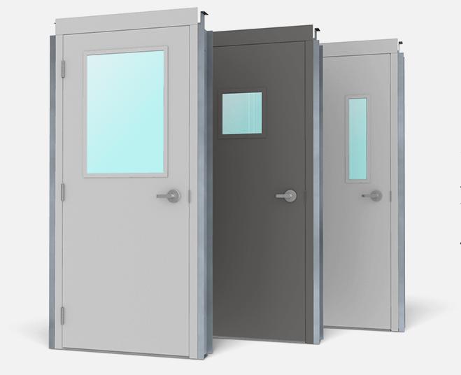 Metal Building Doors Pre Assembled Commercial Steel Walk