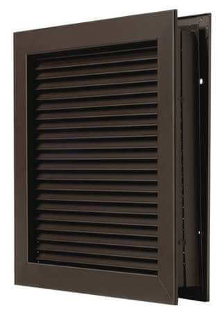 Fire Rated Louver Kit 12 x 12 Bronze Image