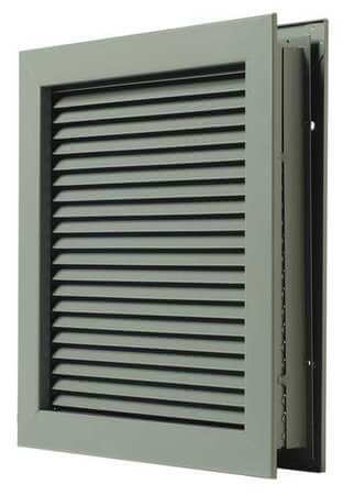 Fire Rated Louver Kit 12 x 12 Grey Image