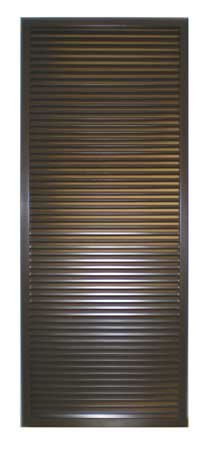 Fire Rated Louver Kit 24 x 18 Bronze Image