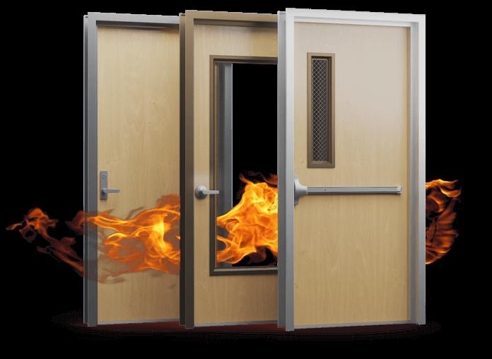 cascade fire rated wood doors