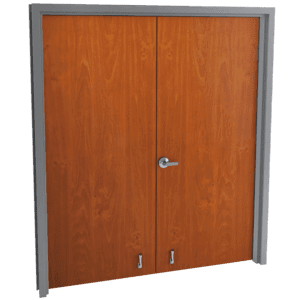 double flush wood doors