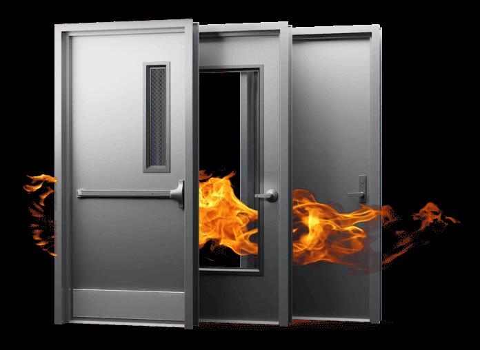 fire raterd metal doors cascade