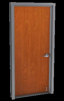 single flush wood doors