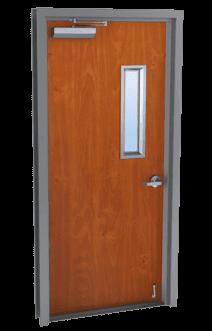 single wood doors with glass kits